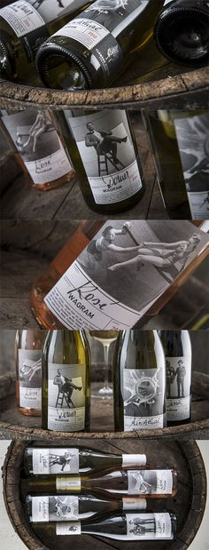 WEINMANUFAKTUR CLEMENS STROBL // Packaging Design Klassiklinie www.lunik2.com #packaging #design #bottle #befirst