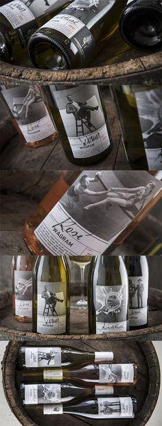 WEINMANUFAKTUR CLEMENS STROBL // Packaging Design Klassiklinie:  By www.strobl-kriegn... #packaging #design #bottle