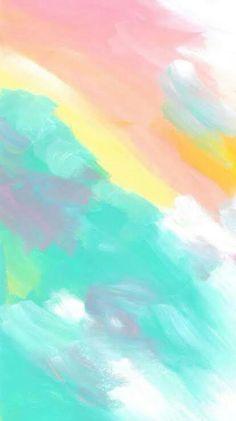 iPhone Hintergrundbild Zitate von Vom Benutzer hochgeladen iPhone Wallpaper Quotes from Uploaded by user # - Unique Wallpaper Quotes Rainbow Wallpaper, Iphone Background Wallpaper, Colorful Wallpaper, Aesthetic Iphone Wallpaper, Screen Wallpaper, Cool Wallpaper, Aesthetic Wallpapers, Pastel Color Wallpaper, Pastel Background Wallpapers