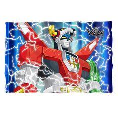 Voltron-Lightning Combine Pillow Sham