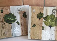 Diy Flowers, Shabby, Collage, Diy Crafts, Fine Art, Country, Cool Stuff, Pictures, Painting