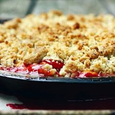 brown butter plum cobbler? Just add on the pounds...