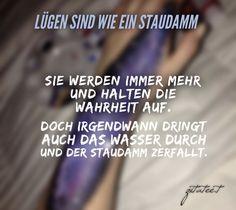 #zitate #sprüche #sprüchezumnachdenken Thoughts, Quotes