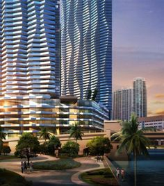 The tower closest to Brickell Avenue, to be constructed in the final phase, is going to be home to a five-star hotel with about 250 rooms and apartments on the upper floors. The three-building complex will form a courtyard with renowned restaurants.