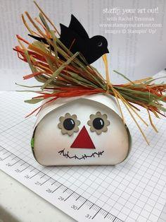 Curvy Keepsakes scarecrow box… #stampyourartout #stampinup - Stampin' Up!® - Stamp Your Art Out! www.stampyourartout.com