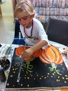 October Art Lesson Gallery