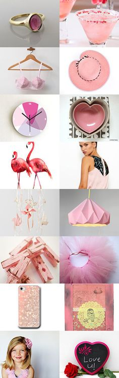pink lady by Sharon on Etsy--Pinned with TreasuryPin.com