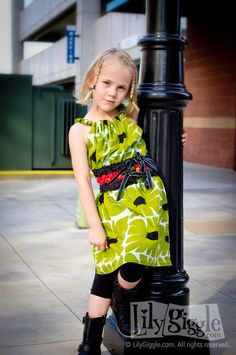 """PDF """"Serendipity"""" DRESS E-Pattern and Detailed Tutorial...sizes 12 months-6years"""