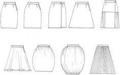 """Résultat de recherche d'images pour """"flat drawing flounce skirt"""""""
