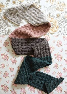 lovely crocheted scarf recipe
