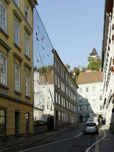 Ballhaus - Broken mirror house, Graz, 2013 - HoG architektur