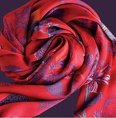 """The Statement Scarf in Fall""""s ultimate accessory in the season hottest prints."""