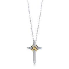 Tiffany & Co Cross Necklace