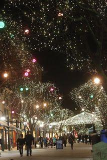 Christmas in Burlington, Vermont.