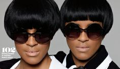 Coco & Breezy take the April Essence Magazine Issue by storm with stylish eyewear and fashion that will make you look twice.