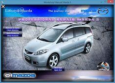 MANUAL DE TALLER Y REPARACIÓN PROFESIONAL MAZDA 5 2005-2007 Mazda, Car, Atelier, Military, Xmas, Flowers, Automobile, Vehicles, Autos