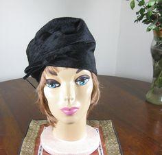 Vintage 60s Sally Victor Cloche Hat Mad Men by omistressvintage, $67.20