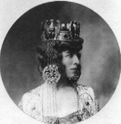 Luisa Casati as the Empress Theodora, Rome, 1905, photographer unknown