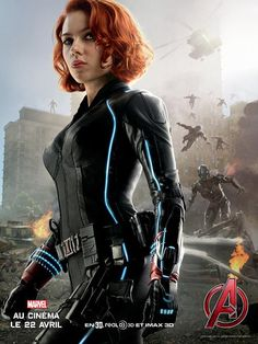 Avengers L'Ere d'Ultron - La veuve noire / Black Widow