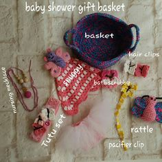 Isn't this a great gift?  This all in one basket is coming to my shop soon!  Other styles will follow.