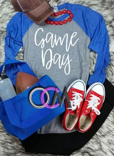 Game Day Raglan, Football Game Day Shirt, Baseball Game Day Shirt, Ladies Football Shirts- Raglan - One Crafty Momma Sports Mom Shirts, Basketball Mom Shirts, Baseball Tee Shirts, Baseball Uniforms, Baseball Pants, Football And Basketball, Baseball Mom, Basketball Birthday, Softball