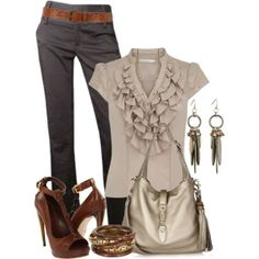 Work outfit - minus the bag :/ Office Fashion, Business Fashion, Work Fashion, Fashion Looks, Business Casual, Classy Outfits, Chic Outfits, Fashion Outfits, Womens Fashion