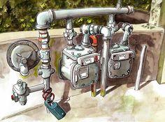 Urban Sketchers: The art of Steven Reddy