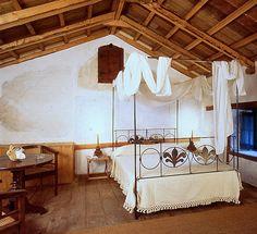 time. worn.    greece greek bedroom