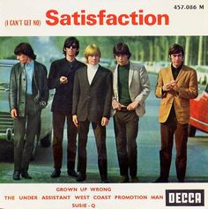 Rolling Stones - I Can't Get No Satisfaction, 1965