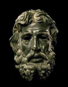 Greek Head of Poseidon / Antigonos Doson 227–221... -                                         Museum of artifacts
