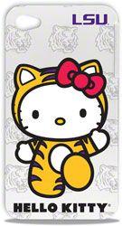 LSU Tigers Hello Kitty iPhone 4/4S Hard Shell http://www.fansedge.com/LSU-Tigers-Hello-Kitty-iPhone-44S-Hard-Shell-_805464110_PD.html?social=pinterest_pfid23-51833