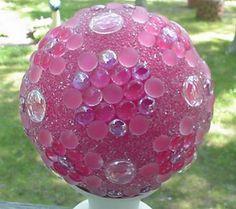 Pretty Garden Ball, A favorite in the Victorian times.