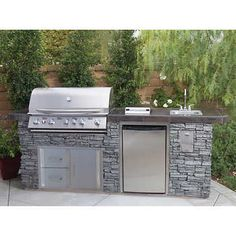 Urban Islands Deluxe Faux Rock Island Grill Fantastic outdoor kitchen countertops grill area detail is offered on our site. Have a look and you wont be sorry you did. The post Urban Islands Deluxe Faux Rock Island Grill appeared first on Outdoor Ideas. Outdoor Kitchen Patio, Outdoor Kitchen Countertops, Outdoor Kitchen Design, Small Outdoor Kitchens, Outdoor Grill Area, Outdoor Grill Station, Patio Grill, Ideas For Backyard Patio, Diy Bbq Area
