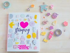 """""""I ❤ Stamping"""" My New Book!"""