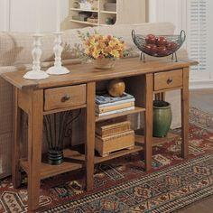 High Quality Broyhill 3397 09S Attic Console Table Finish: Attic Stain. Broyhill  FurnitureNew FurnitureFurniture IdeasEntertainment FurnitureEntertainment  CenterSofa ...