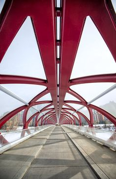 The Peace Bridge 2012, Memorial Drive, Calgary