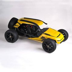 HBX T6 1/6 70km/h RWD Proportional Brushless RC Desert Buggy RC Racing Car         Description      					  					Brand: HBX 					Scale: 1/6 					Item: RC Desert Buggy 					NO.: T6 					Speed: Max. 70km/h 					Color: Yellow  					  					Motor: 2350KV 4076 Brushless Motor 					ESC: 160A...