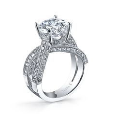 VannaK.com    The Cascade bridal collection represents a promise of eternal love. Vanna K Fine Jewelry - known worldwide for its unique and exclusive designs and expertly hand-crafted diamond engagement rings.