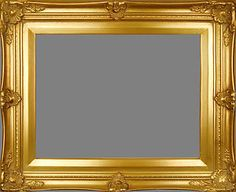 """Picture Frame Wood Ornate Gold Wedding Photo Art 2 75"""" Wide Variety of Sizes 