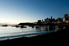 Blog do Rio Vermelho, a voz do bairro: Crepúsculo na Praia de Santana no Rio Vermelho