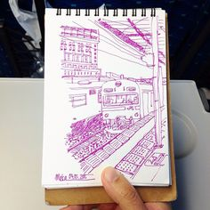 local train | #mekaworks #drawing #kyotostation #japan