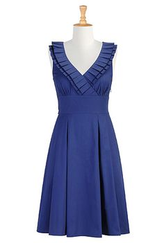 Just discovered this website:  You can customize their clothes by personal size, height, lengthy, necklines and sleeves!  Must try it out; have always struggled as a shorty!