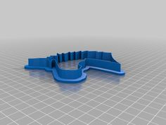 Unicorn Cookie Cutter by byteborg - Thingiverse