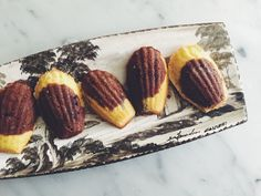 A Trip to Chinon, and a Recipe for Chocolate-Orange Madeleines