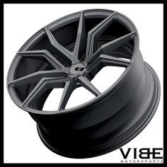 "20"" XO VERONA GUNMETAL CONCAVE WHEELS RIMS FITS INFINITI G37 SEDAN #XO #verona #wheels #concave #infiniti #g37 #vibemotorsports"