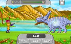 Matematica con Android: Math vs Dinosaurs