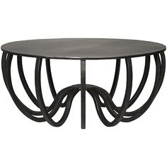 Noir Cambell Metal Coffee Table