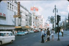 Canal Street, New Orleans, 1958.