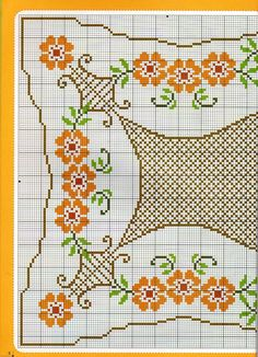 This Pin was discovered by Afr Cross Stitch Heart, Cross Stitch Borders, Cross Stitch Flowers, Cross Stitch Kits, Cross Stitch Designs, Cross Stitching, Cross Stitch Embroidery, Cross Stitch Patterns, Chicken Scratch