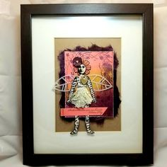 Image may contain: 1 person Blank Page, Crafty Projects, Muse, Stamps, Action, Frame, Creative, Diy, Instagram